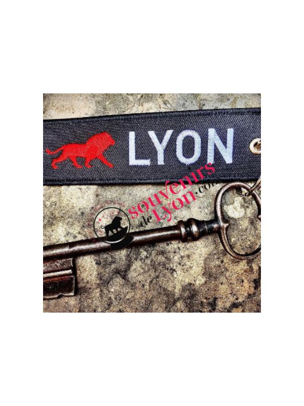 Key ring Lyon Onlylyon Souvenirsdelyon.com