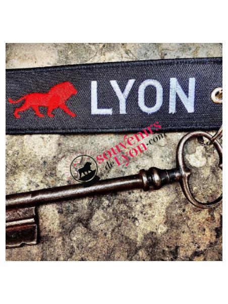 Porte-clés Lyon Onlylyon chez Souvenirsdelyon.com