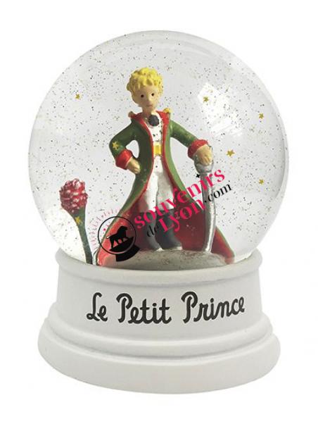 Boule à neige Petit Prince et la Rose chez Souvenirsdelyon.com