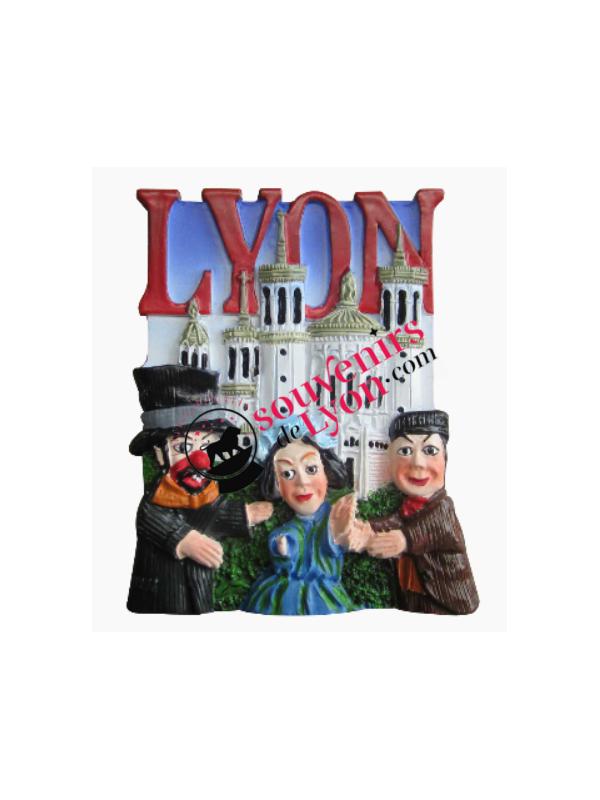 Magnet Lyon Guignol theater Souvenirsdelyon.com