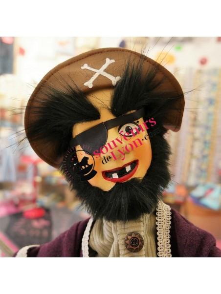 Marionnette le Pirate, théâtre de Guignol chez Souvenirsdelyon.Com