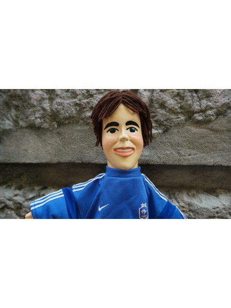 Marionnette le Footballeur chez Souvenirsdelyon.Com