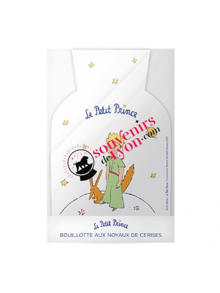 Bouillotte noyaux de cerises le Petit Prince et le Renard chez Souvenirsdelyon.com