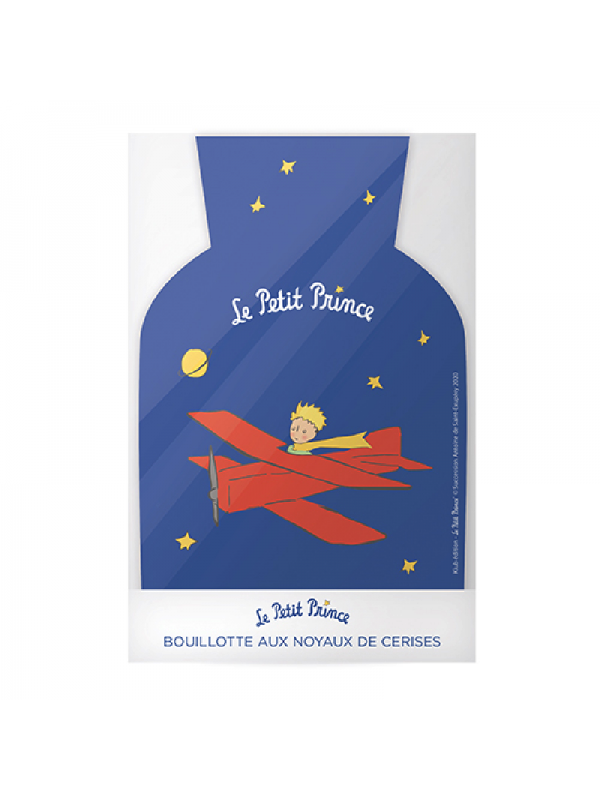 Bouillotte noyaux de cerises le Petit Prince aviateur  chez Souvenirsdelyon.com