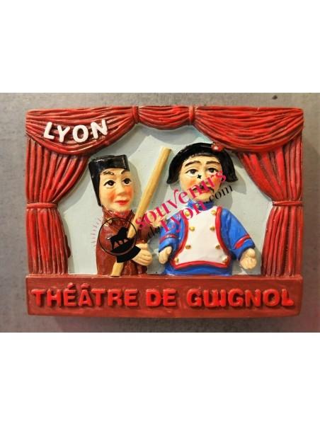 Magnet Lyon théâtre de Guignol chez Souvenirsdelyon.com