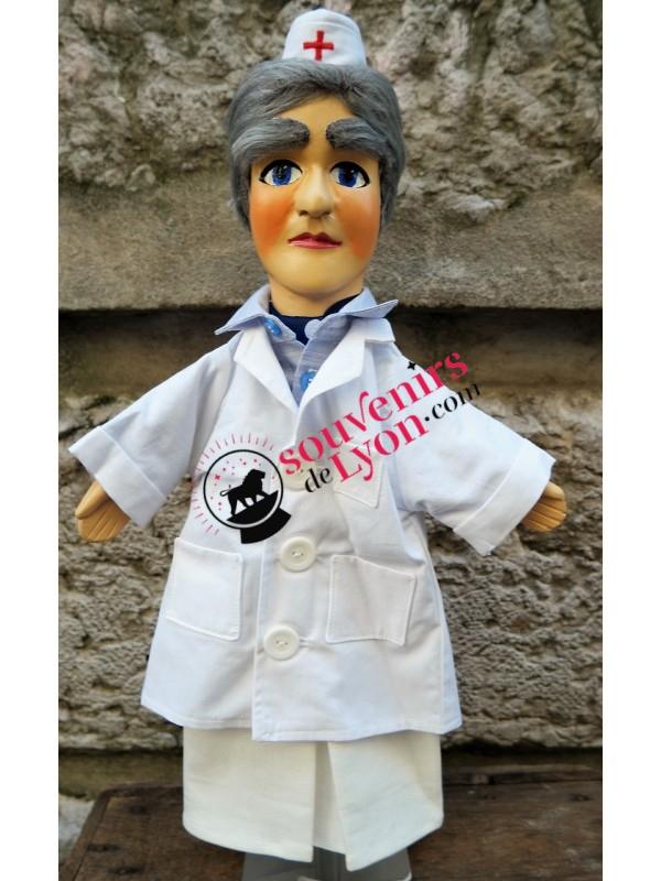 Marionnette le Docteur chez Souvenirsdelyon.com