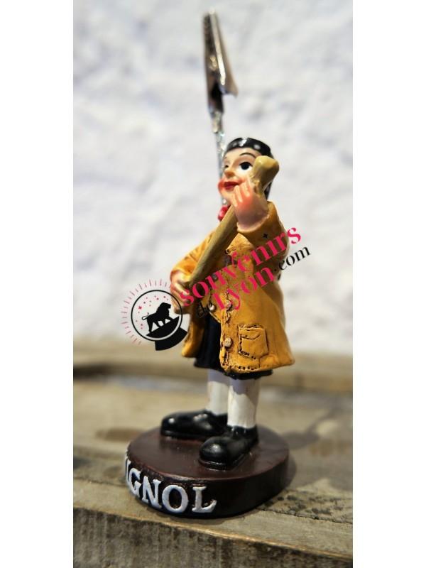 Guignol card clip Souvenirsdelyon.com