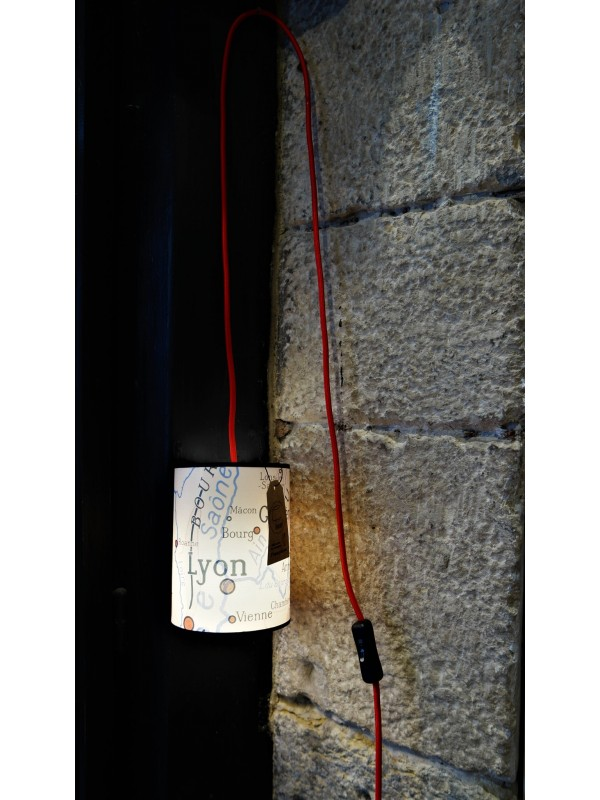 Lyon Geography lamp Souvenirsdelyon.com