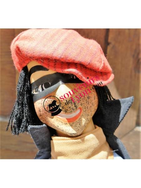 Marionnette le Voleur, théâtre de Guignol chez Souvenirsdelyon.Com