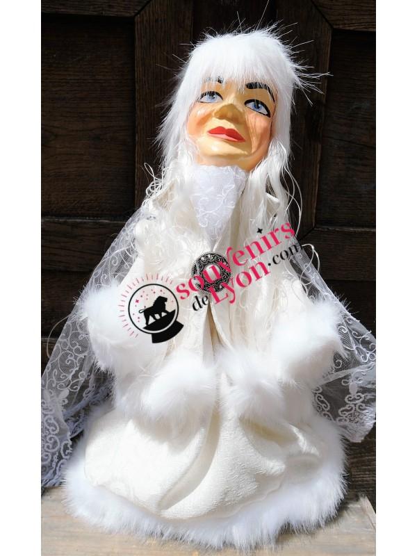 Marionnette la Reine des Glaces chez Souvenirsdelyon