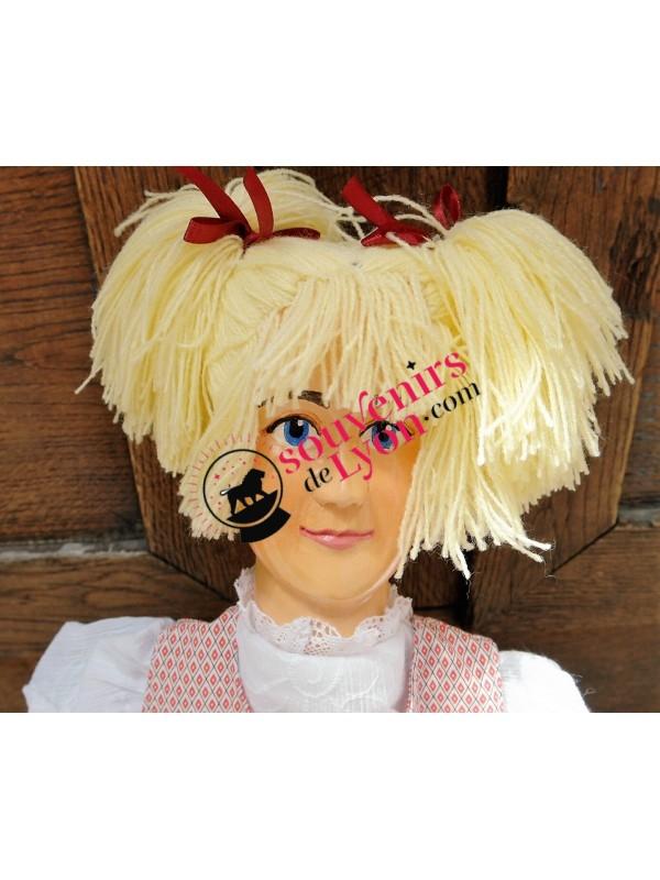 Marionnette la Fillette Blonde chez Souvenirsdelyon.Com