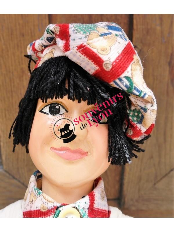 Marionnette le Gamin Brun chez souvenirsdelyon.com