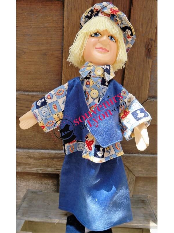 Marionnette le Gamin Blond chez souvenirsdelyon.com