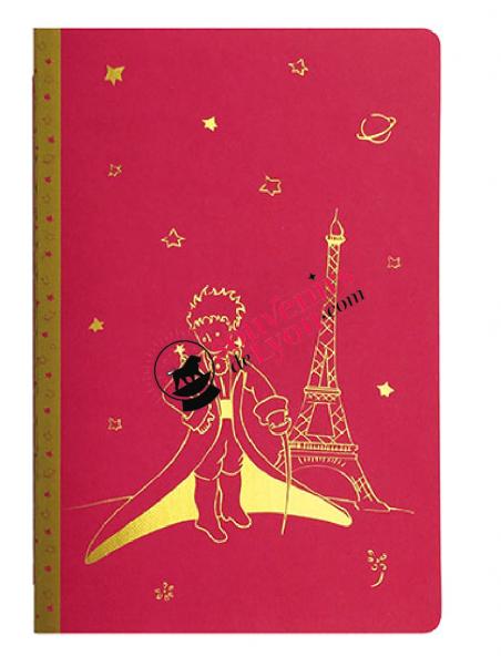 Cahier ligne A5 le Petit Prince à Paris chez Souvenirsdelyon.com