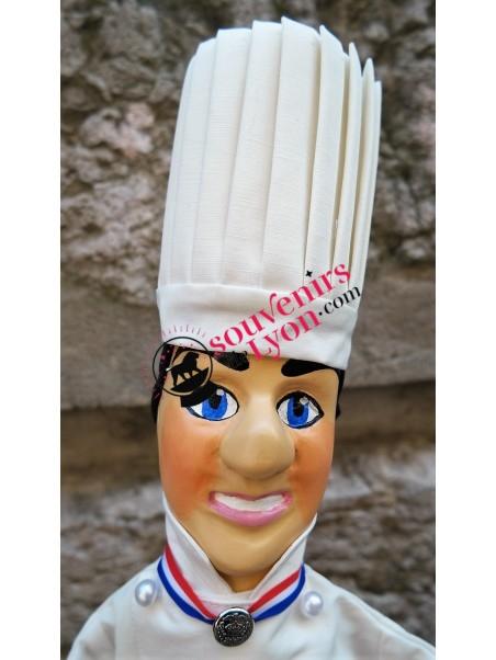 Marionnette le Chef Toque MOF chez souvenirsdelyon.com