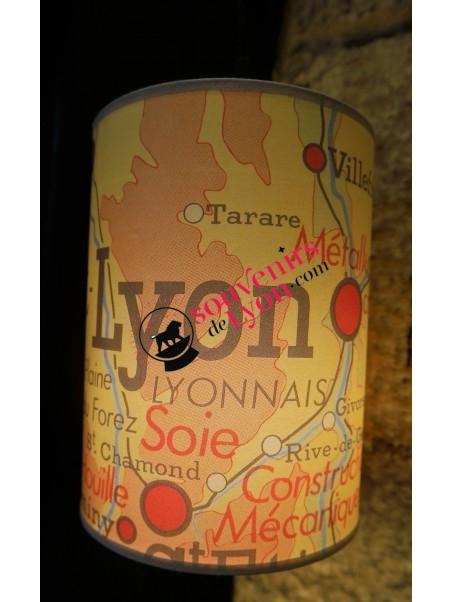 Baladeuse Lyon géographie chez Souvenirsdelyon.com