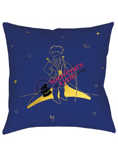 Coussin garni le Petit Prince cape chez Souvenirsdelyon.com