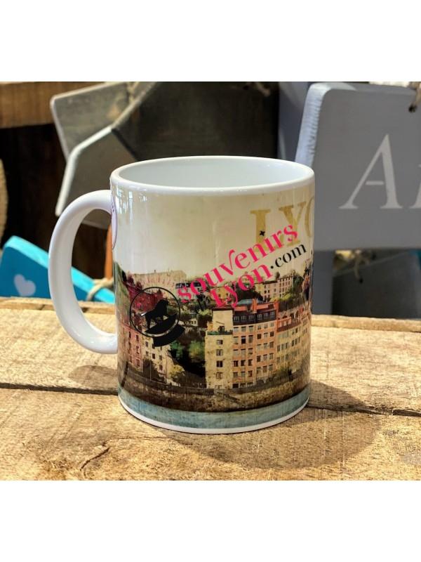 Mug Lyon vintage chez Souvenirsdelyon.com