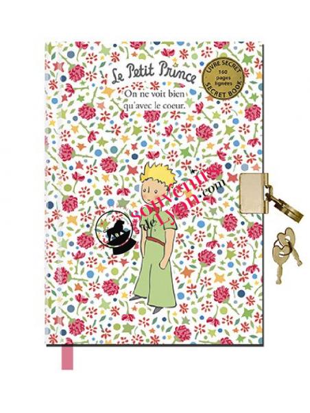 Carnet secret A6 le Petit Prince chez Souvenirsdelyon.com