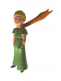 Magnet le Petit Prince écharpe 3D chez Souvenirsdelyon.com