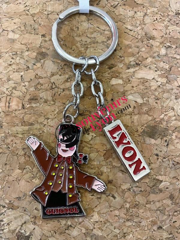 Lyon Guignol key ring  Souvenirsdelyon.Com