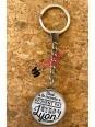 "Lyon key ring ""Not everyone can be from Lyon"" Souvenirsdelyon.Com"