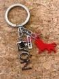 Lyon Onlylyon silver key ring  Souvenirsdelyon.com