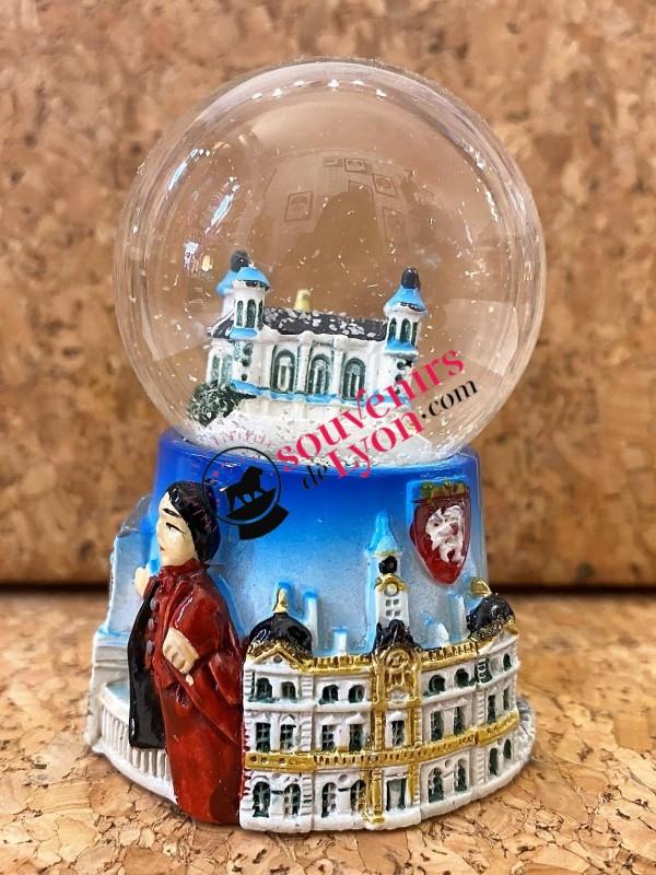 Lyon Fourvière snow globe Souvenirsdelyon.com