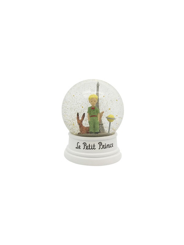 Boule à neige Le Petit Prince, le renard et la tour Eiffel chez Souvenirsdelyon.com