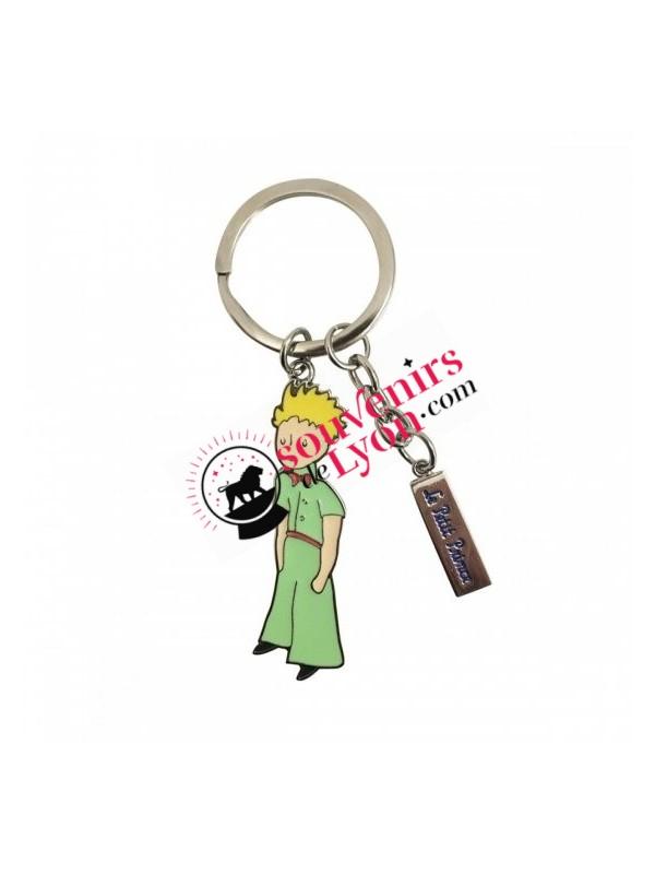 Porte-clés le Petit Prince en habits verts chez Souvenirsdelyon.com