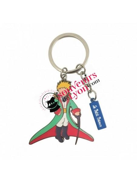 Porte-clés le Petit Prince en cape chez Souvenirsdelyon.com
