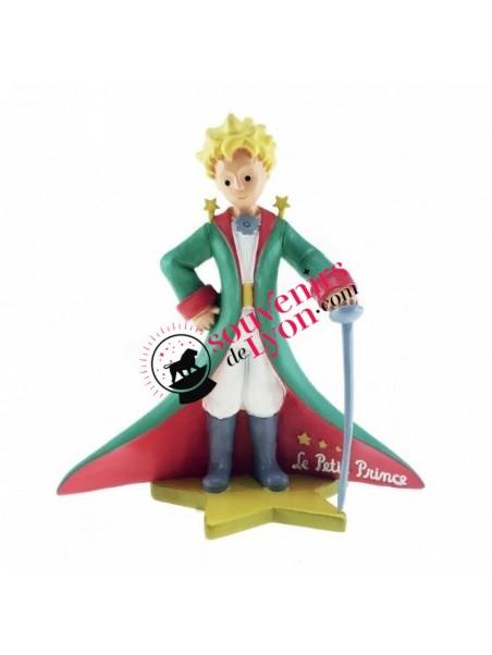 Figurine le Petit Prince cape et épée chez Souvenirsdelyon.com