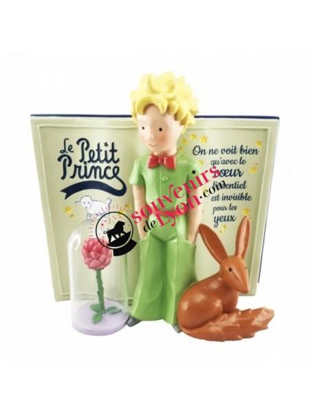 Figurine le Petit Prince, livre, la Rose et le Renard chez Souvenirsdelyon.com