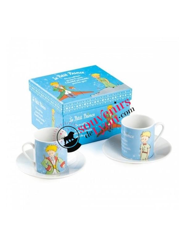 Set de 2 tasses à café le Petit Prince  chez Souvenirsdelyon.com