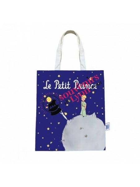 Tote bag le Petit Prince nuit étoilée chez Souvenirsdelyon.com