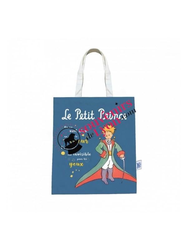 Tote bag le Petit Prince en cape chez Souvenirsdelyon.com