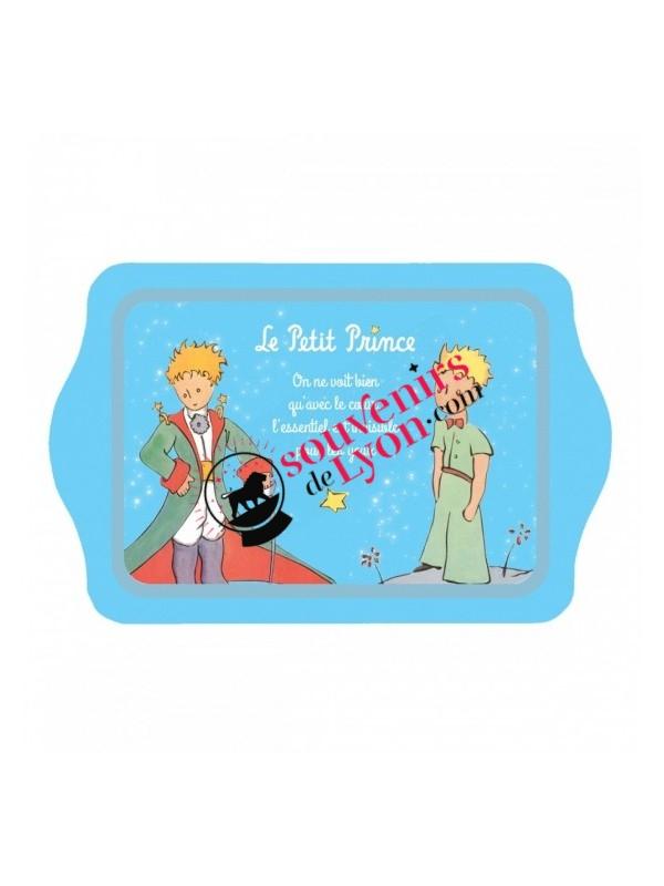 Plateau le Petit Prince bleu clair chez Souvenirsdelyon.com