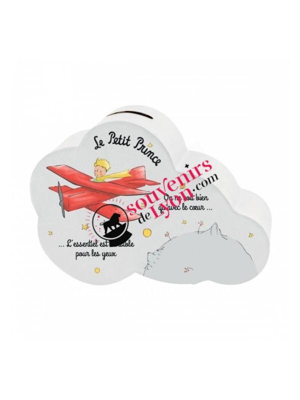 Tirelire le Petit Prince nuage avion chez Souvenirsdelyon.com