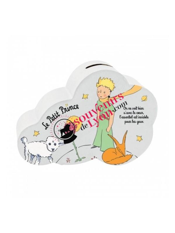 Tirelire le Petit Prince nuage mouton chez Souvenirsdelyon.com