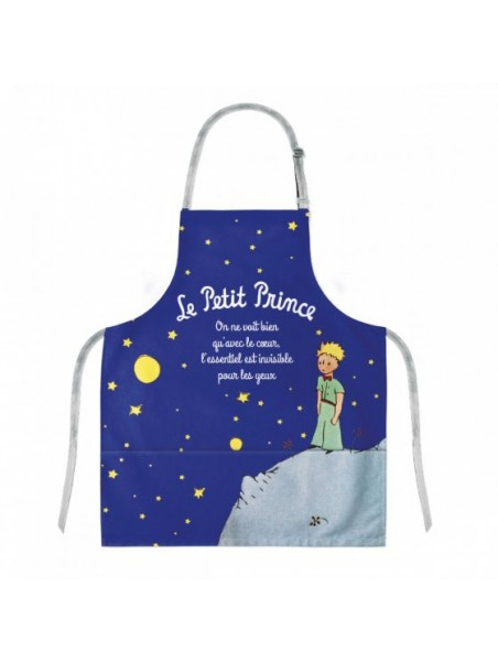 Tablier enfant le Petit Prince nuit étoilée chez Souvenirsdelyon.com