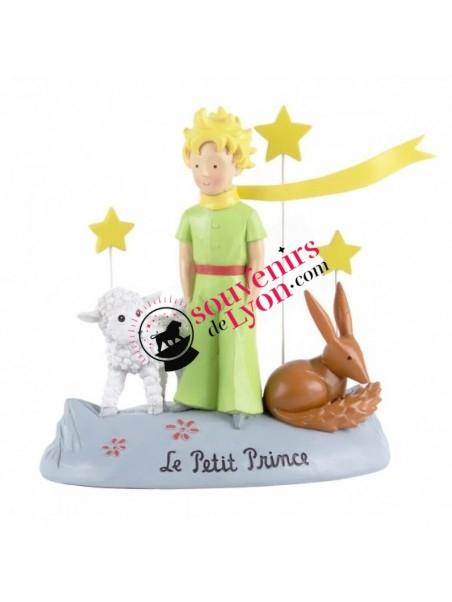 Figurine le Petit Prince, le mouton, le renard et les étoiles chez Souvenirsdelyon.com