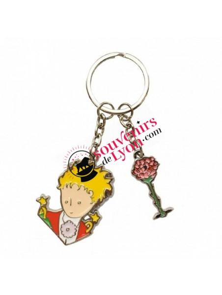 Porte-clés le Petit Prince cape chez Souvenirsdelyon.com