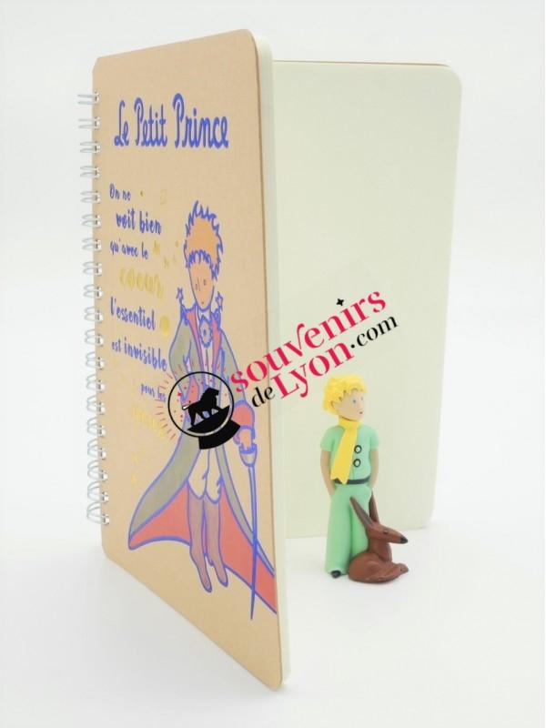 Carnet le Petit Prince en cape chez Souvenirsdelyon.com