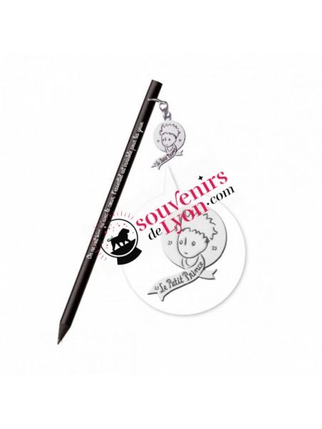 Crayon à papier le Petit Prince breloque portrait chez Souvenirsdelyon.com
