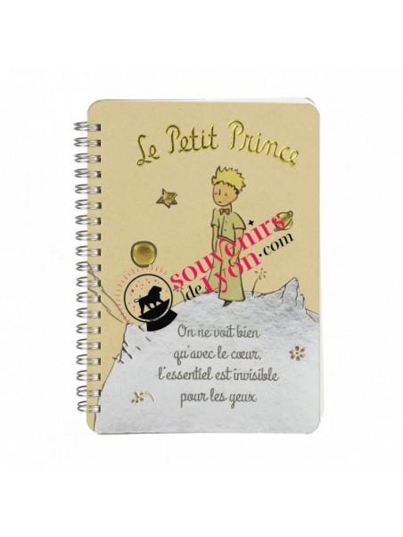 Carnet le Petit Prince sur sa planète chez Souvenirsdelyon.com