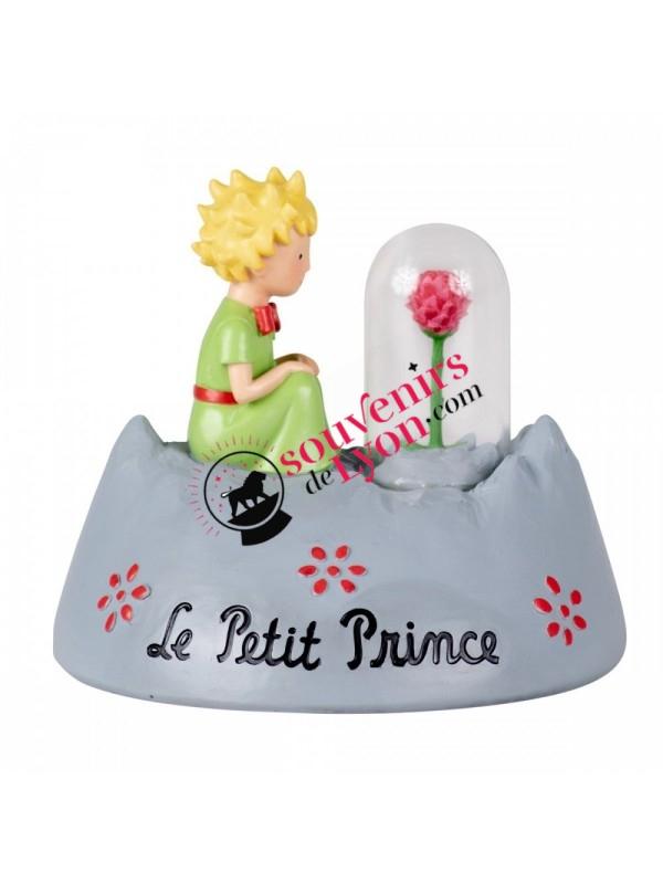 Figurine le Petit Prince et la rose chez Souvenirsdelyon.com