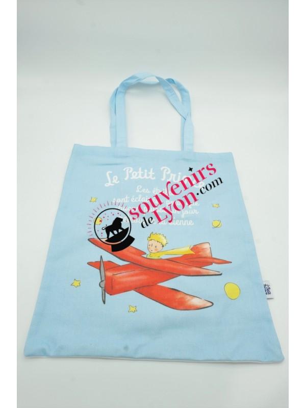 Tote bag le Petit Prince aviateur chez Souvenirsdelyon.com