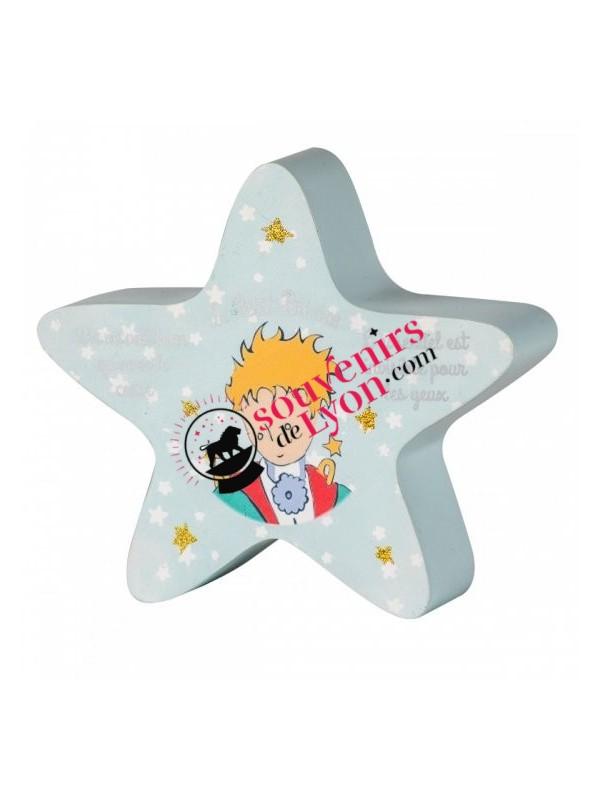 Tirelire le Petit Prince étoile chez Souvenirsdelyon.com