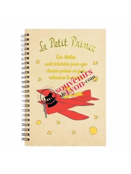 Carnet le Petit Prince aviateur chez Souvenirsdelyon.com