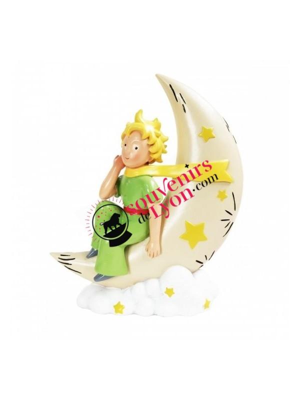 Figurine le Petit Prince sur la lune chez Souvenirsdelyon.com
